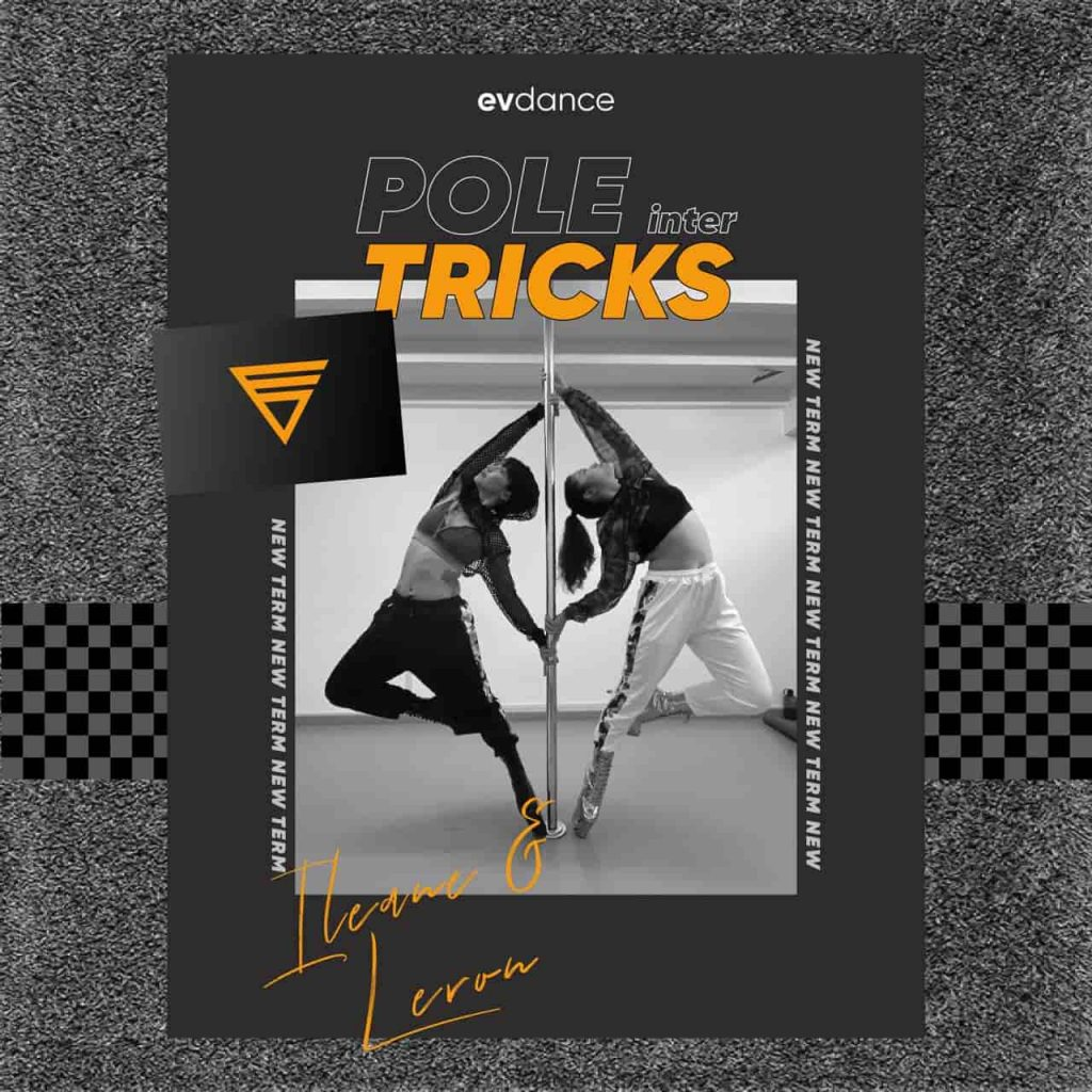 Pole Tricks Course Poster