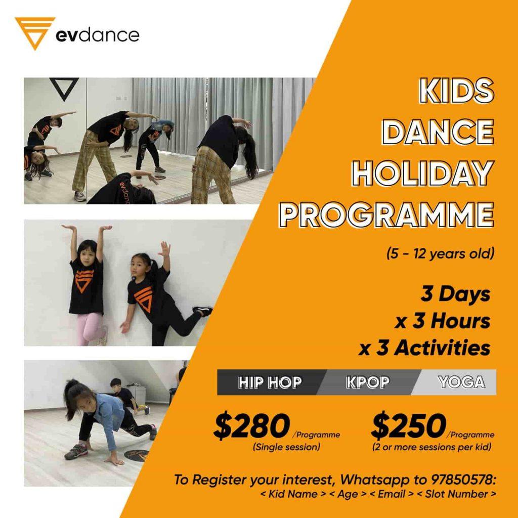 EV Kids Holiday Programme Poster