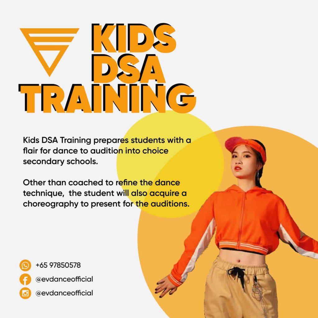 Kids DSA Training Poster