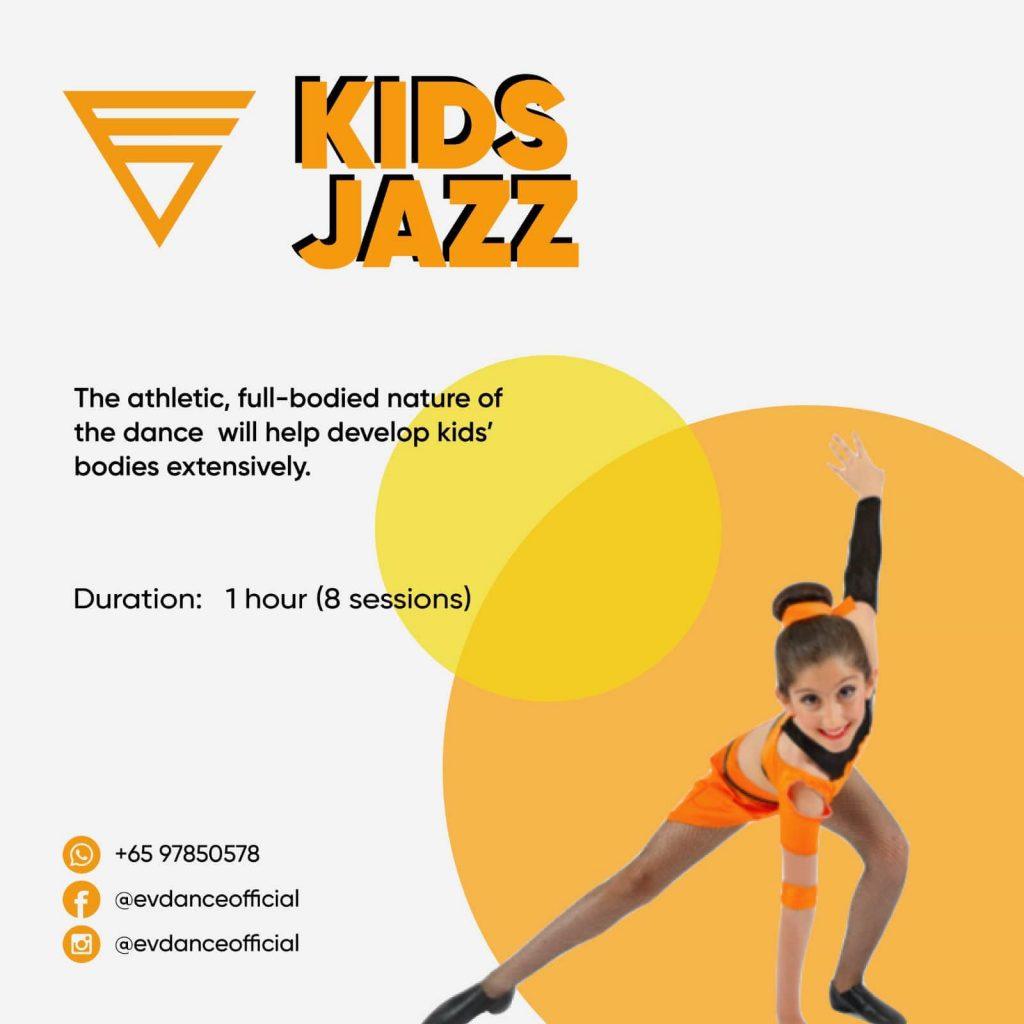 Kids Jazz Dance Class